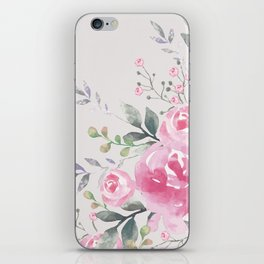 ROSES FLORAL BOUQUET iPhone Skin