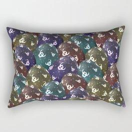 Easter Eggs - Evil Rectangular Pillow