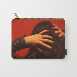 Menstrual Red Carry-All Pouch