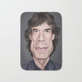 Celebrity Sunday ~ M ick Jagger Bath Mat