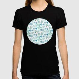 Bikes Pattern T-shirt