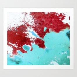 Patina 5 Art Print