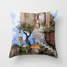 Bringing stories to life Throw Pillow