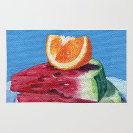 Summer Fruit Rug
