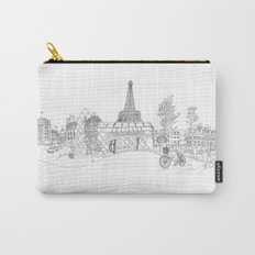 Paris! Version#1 Carry-All Pouch