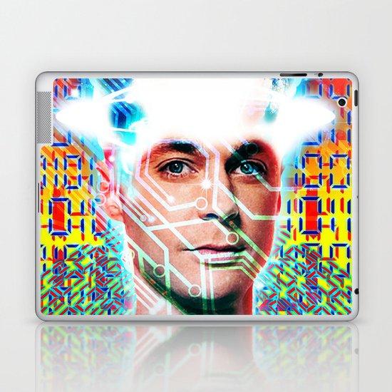 dr c, digital mix up Laptop & iPad Skin