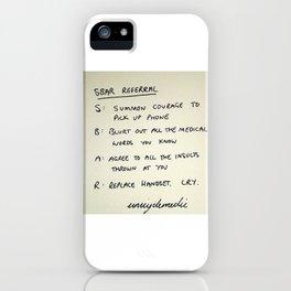 SBAR iPhone Case