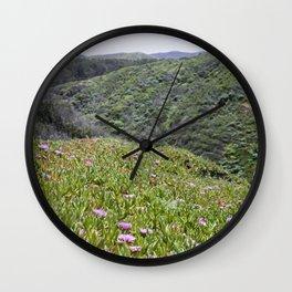 Montaña de Oro Hillside Wall Clock