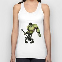 misfits Tank Tops featuring Misfits by Roe Mesquita