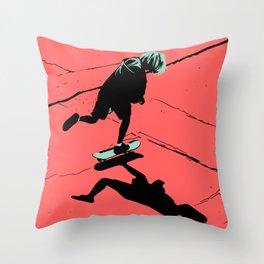 S. K. 02 Throw Pillow