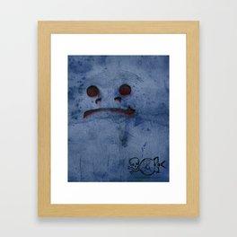 Snow-Mad! Framed Art Print