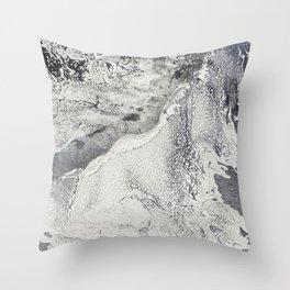 Chrome Crash Throw Pillow