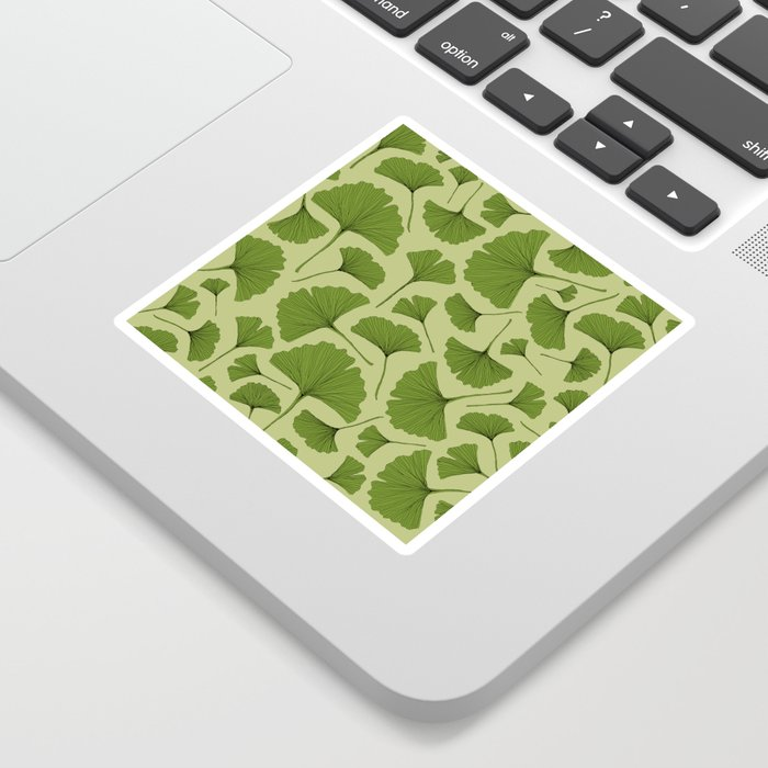 GINKGO LEAF Sticker