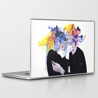 agnes Laptop & iPad Skins featuring intimacy on display by agnes-cecile