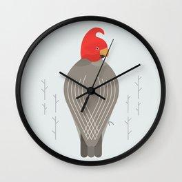Gang-Gang Cockatoo, Bird of Australia Wall Clock