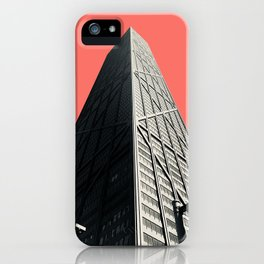 Hancock in Living Coral iPhone Case