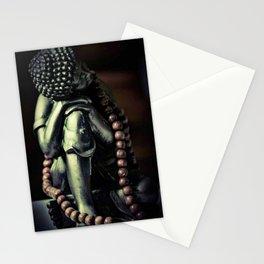 Beaded buddha Stationery Cards