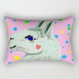 Lucky Llama Rectangular Pillow