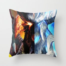 the sons of sparda Throw Pillow