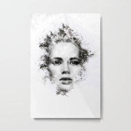 Woman Portrait Metal Print