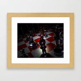 chess 3D Framed Art Print
