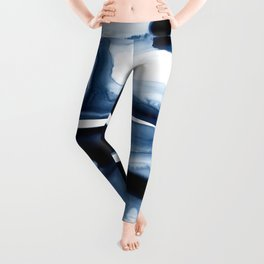 Indigo Flow no. 1 Leggings