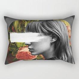 floral sign Rectangular Pillow