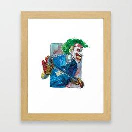 Joker Dc Framed Art Print