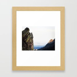 Reaching for the Top Framed Art Print