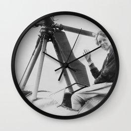 Amelia Earhart Wall Clock