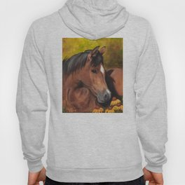 Little Brown Filly Hoody