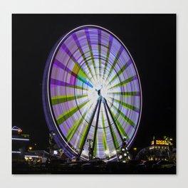 Ferris Wheel in the Smokey's Canvas Print