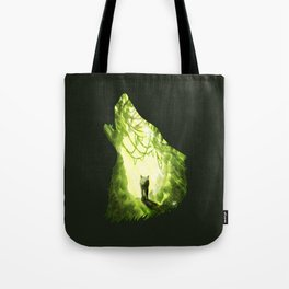 Wolf's Forest Tote Bag