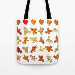 Orange Peel Party Tote Bag