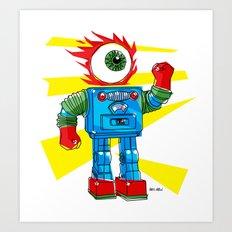 EYE-ROBOT Art Print