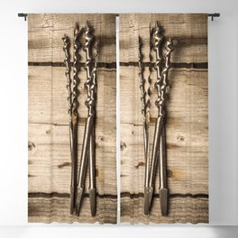 Much loved tools Blackout Curtain