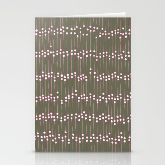Long Dots Stationery Cards