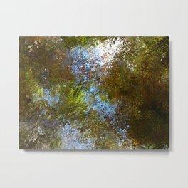 watercolor splash Metal Print