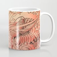 koi Mugs featuring koi by Monty