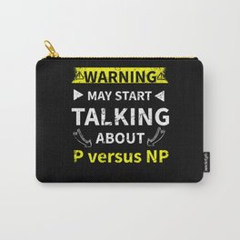 P versus NP Mathematical Problem Funny Carry-All Pouch