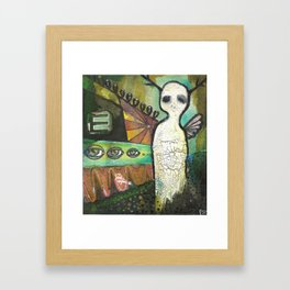 Vision Test Framed Art Print