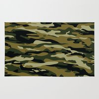 """military Area & Throw Rugs featuring Military  by """"CVogiatzi."""