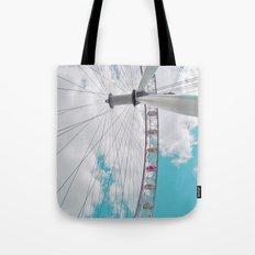 eye in the sky... Tote Bag