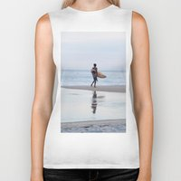 surfer Biker Tanks featuring Surfer by Love the Shoot