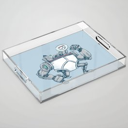 Uber UnderwearBot Acrylic Tray
