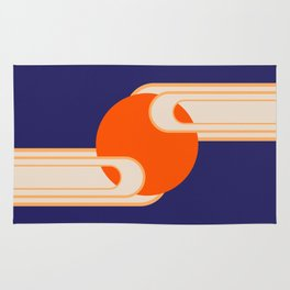 Party Cloudy Skies Rug