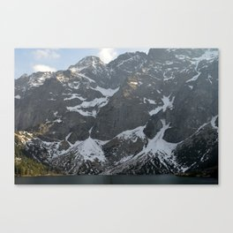 Snow in May Canvas Print