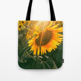 summer in the fields Tote Bag