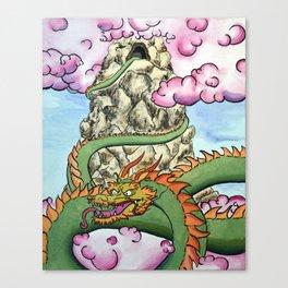 Mountain top Drak Canvas Print