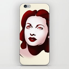 Hedy Lamarr iPhone Skin